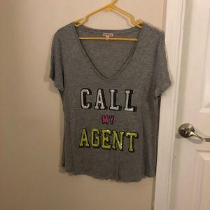 CALL MY AGENT TEE